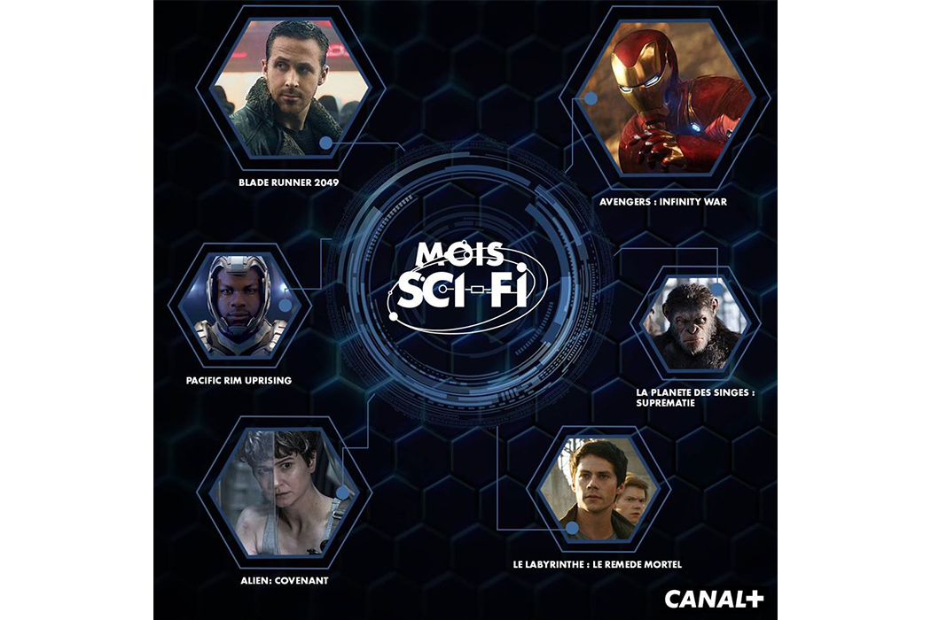Mois Sci-Fi for CANAL+